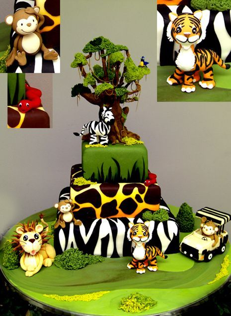 Cake Decorating Sugar Animals : Image